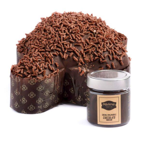 colomba artigianale al cioccolato di modica