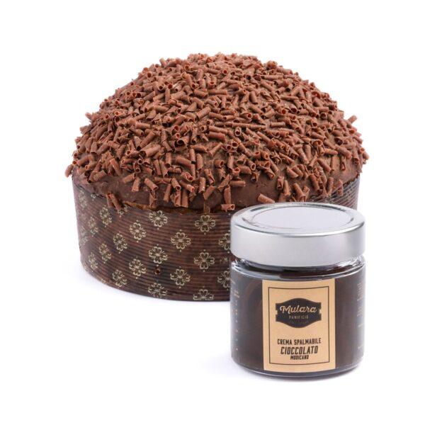 panettone artigianale al cioccolato di modica
